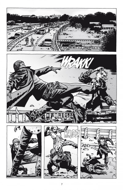 Page 1 Walking dead tome 18