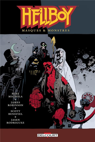 Couverture Hellboy tome 14 - Masques & Monstres