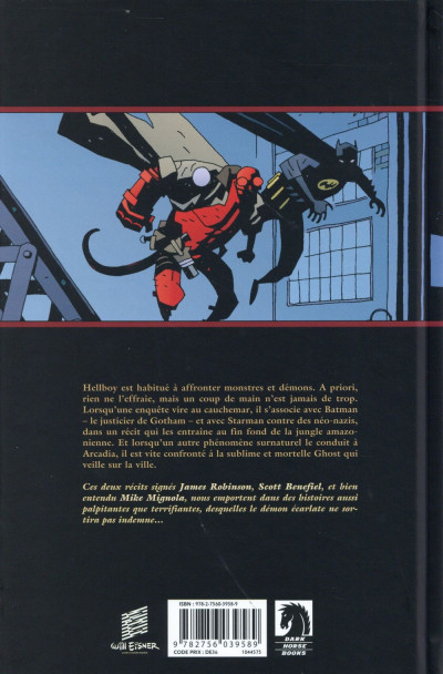 Dos Hellboy tome 14 - Masques & Monstres