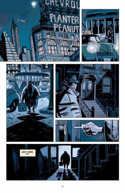 Page 1 Lobster Johnson T.1 - le Prométhée de fer