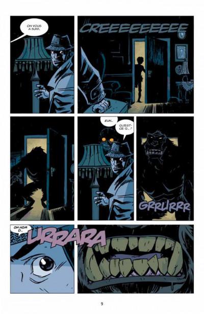 Page 3 Lobster Johnson T.1 - le Prométhée de fer