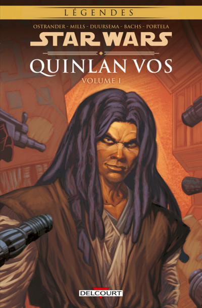 Couverture Star Wars - Quinlan Vos tome 1