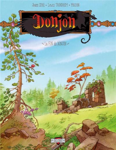 Couverture Donjon Crépuscule Tome 111 - La Fin du Donjon