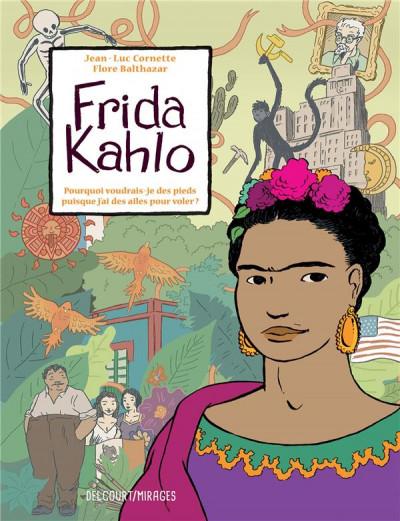 Couverture Frida Kahlo