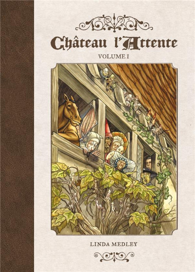 Couverture Château l'Attente tome 1