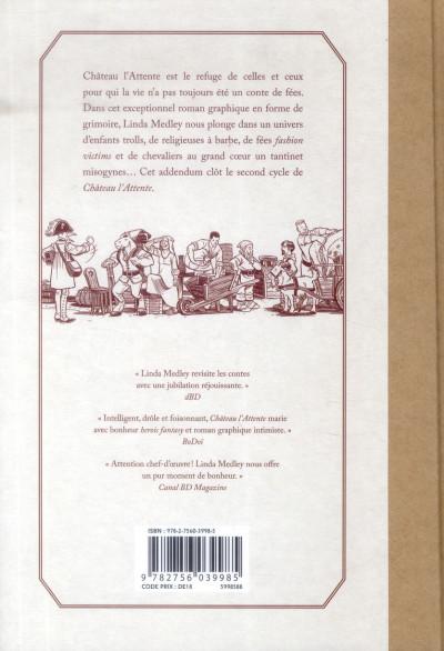Dos Château l'Attente tome 2 - Addendum
