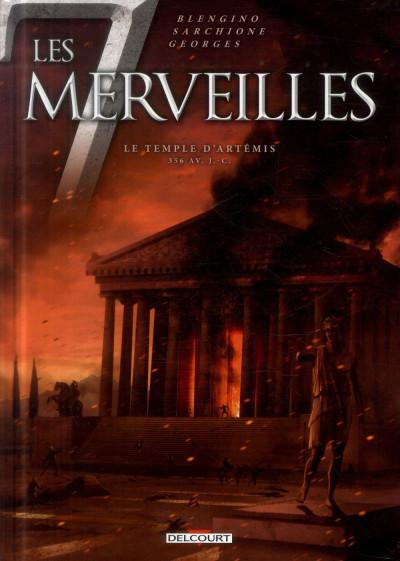 image de Les 7 Merveilles tome 4 - Le Temple d'Artémis