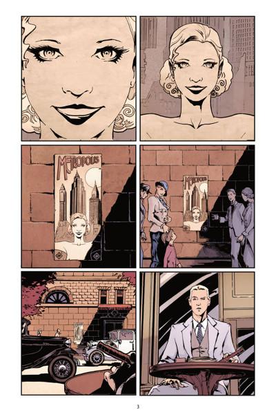 Page 1 Metropolis tome 1