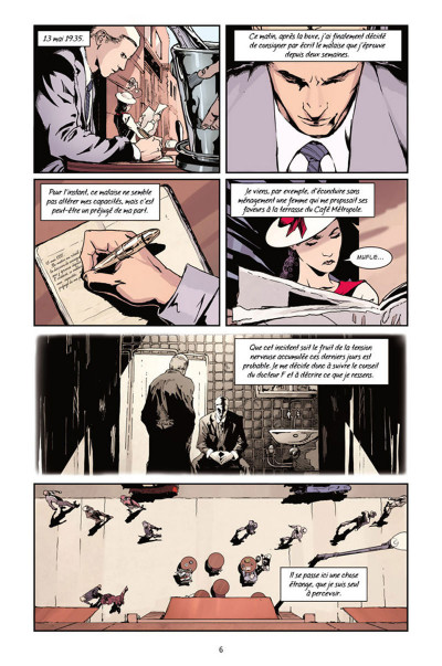 Page 4 Metropolis tome 1
