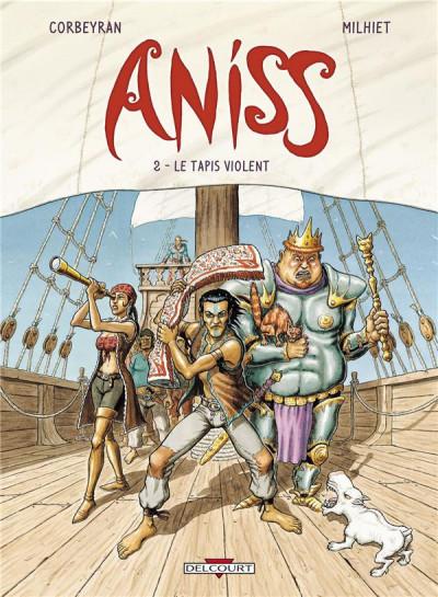 image de Aniss tome 2 - Le Tapis violent