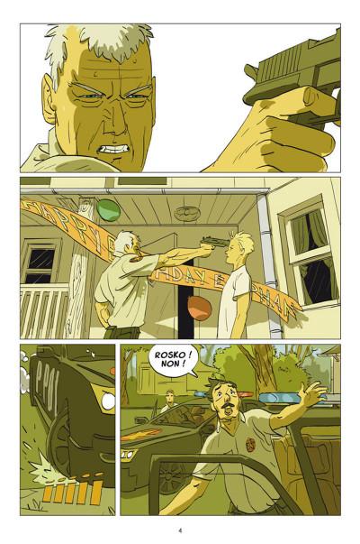 Page 2 Rosko Tome 1 - Per Svenson doit mourir aujourd'hui