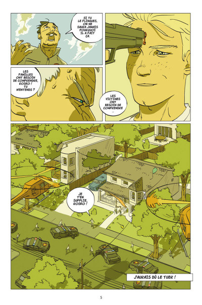 Page 3 Rosko Tome 1 - Per Svenson doit mourir aujourd'hui