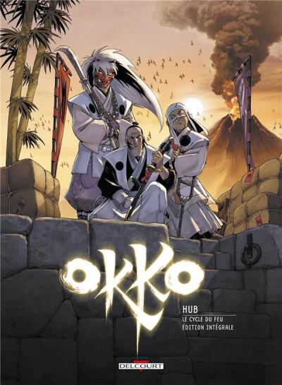 Couverture Okko - le cycle du feu - intégrale tome 7 et tome 8