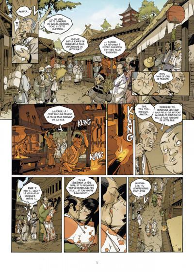 Page 1 Okko - le cycle du feu - intégrale tome 7 et tome 8