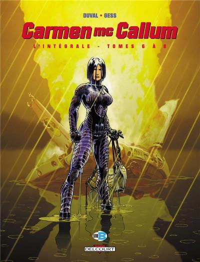 Couverture Carmen Mc Callum - intégrale tomes 6 à 8