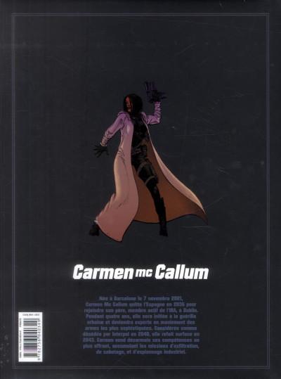 Dos Carmen Mc Callum - intégrale tomes 6 à 8