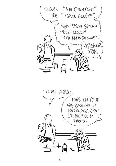 Page 3 Bastien Vivès tome 7 - Le football