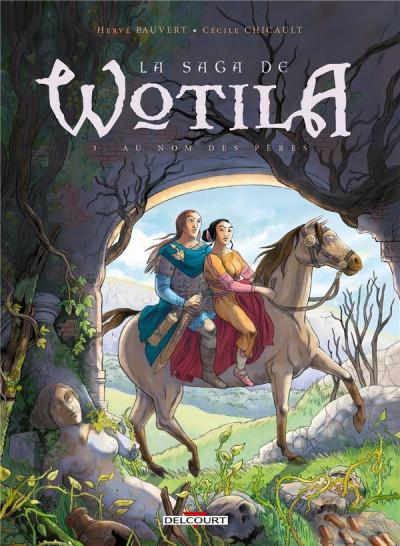 Couverture La saga de Wotila tome 3 - Au nom des pères