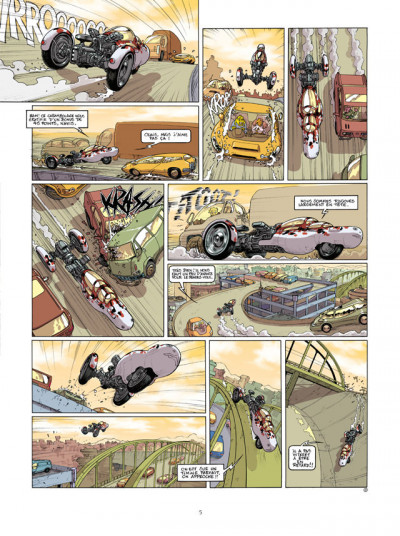 Page 3 Sillage - intégrale tome 13 à tome 15