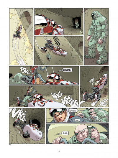 Page 4 Sillage - intégrale tome 13 à tome 15