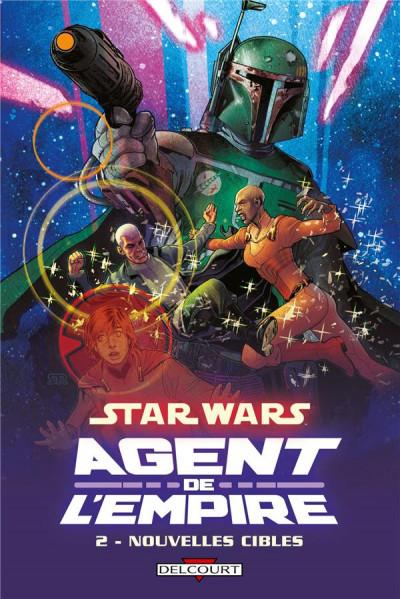Couverture Star Wars - agent de l'empire tome 2 - nouvelles cibles