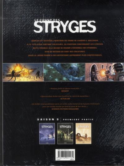 Dos Le chant des stryges - fourreau saison 3 tome 13 à tome 15