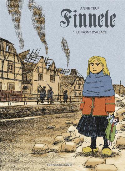 Couverture Finnele tome 1 - Le Front d'Alsace
