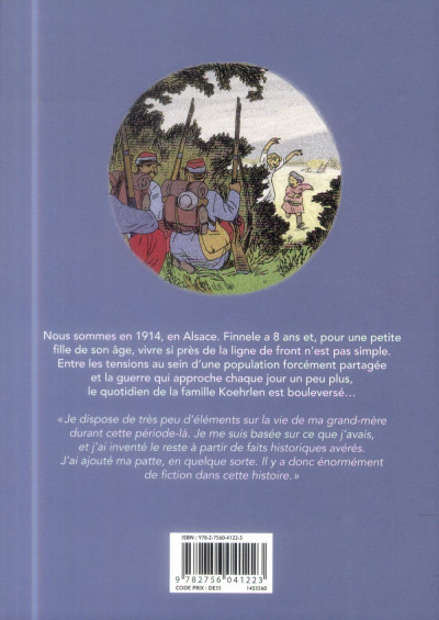 Dos Finnele tome 1 - Le Front d'Alsace