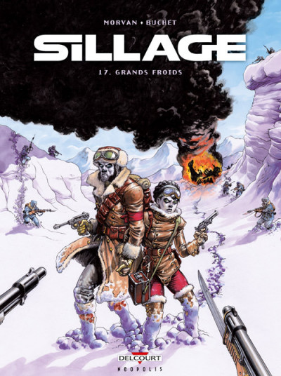 Couverture Sillage tome 17
