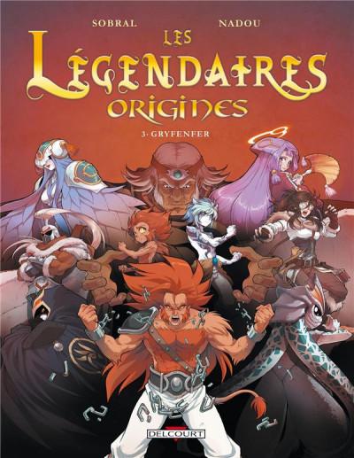 Couverture Les légendaires - origines tome 3