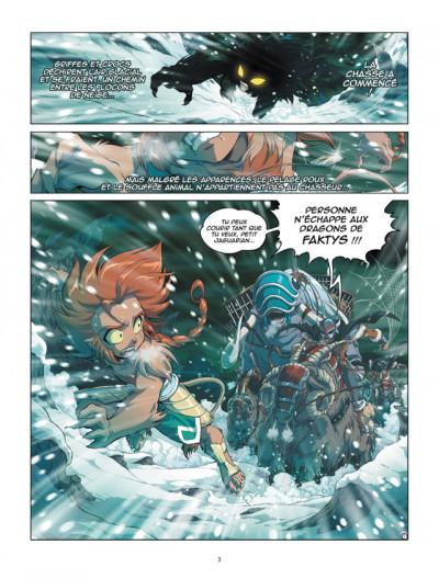 Page 1 Les légendaires - origines tome 3