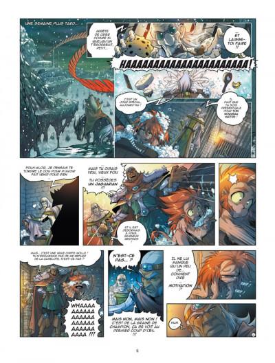 Page 4 Les légendaires - origines tome 3