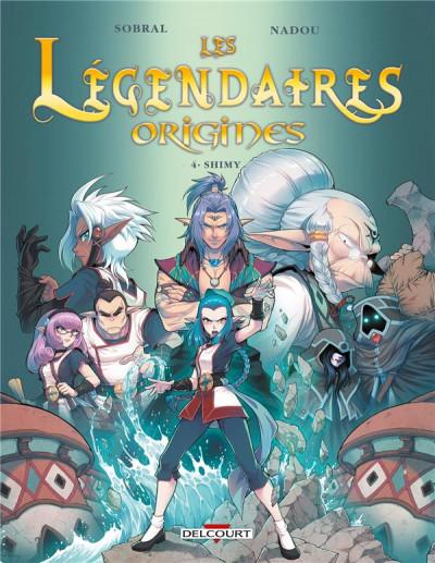 Couverture Les légendaires - origines tome 4