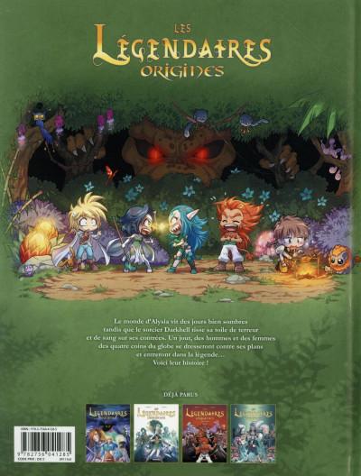Dos Les légendaires - origines tome 4
