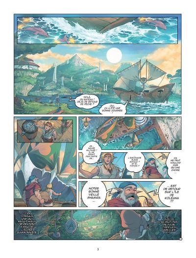 Page 1 Les légendaires - origines tome 4