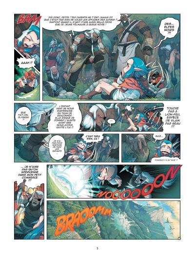 Page 3 Les légendaires - origines tome 4