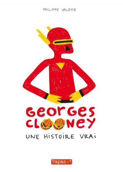 Couverture Georges Clooney tome 1 - une histoire vrai