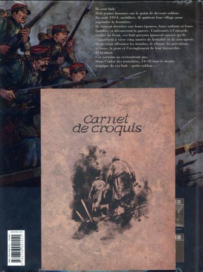 Dos 14-18 tome 3 - Le Champ d'honneur (janvier 1915)