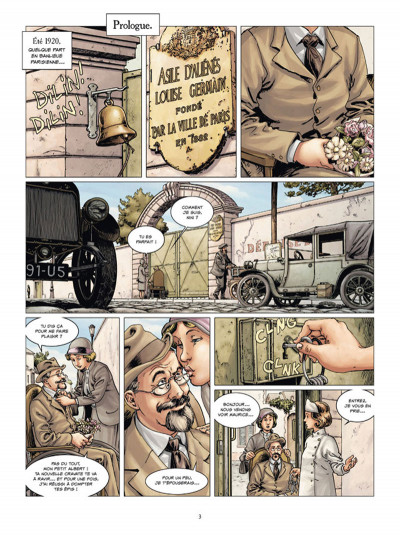 Page 1 14-18 tome 3 - Le Champ d'honneur (janvier 1915)