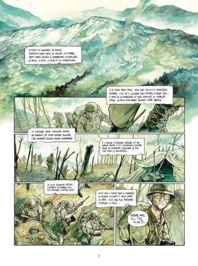 Page 1 Complot tome 3 - La bataille de Hamburger Hill