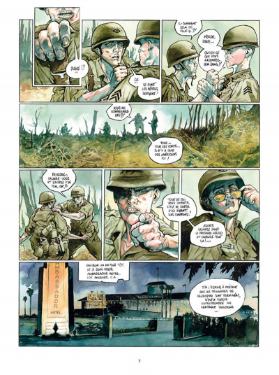 Page 3 Complot tome 3 - La bataille de Hamburger Hill