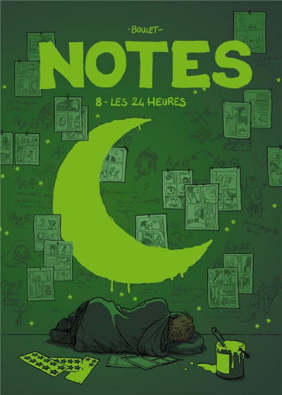 Couverture Notes tome 8 - les 24 heures