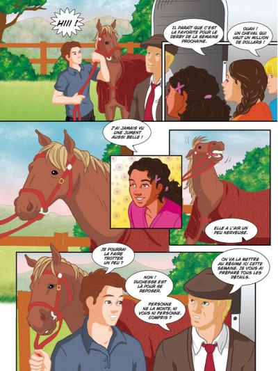 Page 1 grand galop tome 9 - l'âne et la duchesse
