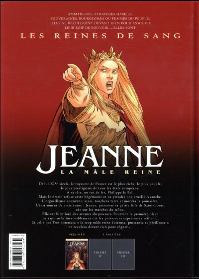 Dos Les reines de sang - Jeanne, La mâle reine tome 1