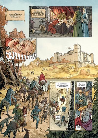 Page 1 Les reines de sang - Jeanne, La mâle reine tome 1