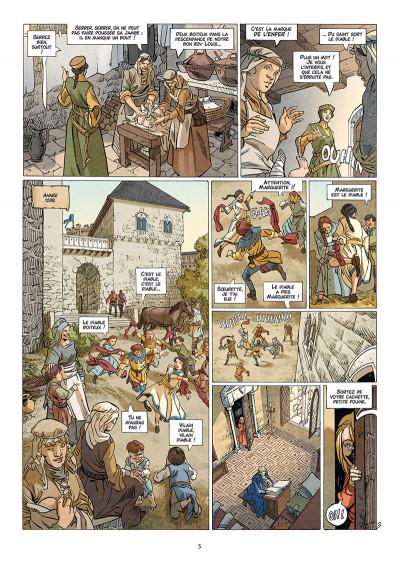 Page 3 Les reines de sang - Jeanne, La mâle reine tome 1
