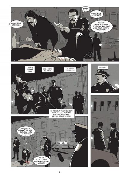 Page 2 Homicide - Une année dans les rues de Baltimore tome 1