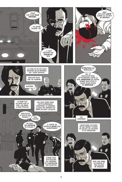 Page 3 Homicide - Une année dans les rues de Baltimore tome 1