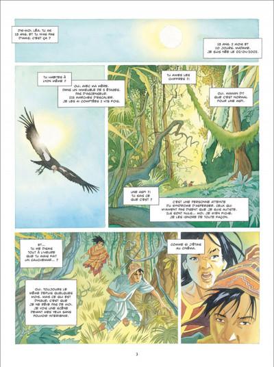 Page 1 L'ombre Inca tome 1 - L'Offrande