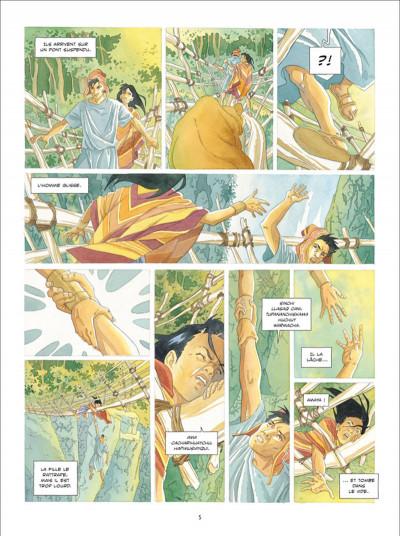 Page 3 L'ombre Inca tome 1 - L'Offrande